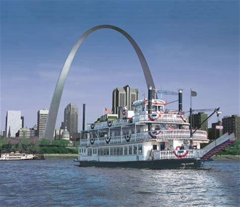 Mississippi River Boat Cruise St Louis by Gateway Arch Riverboat Cruises In Missouri Visitmo