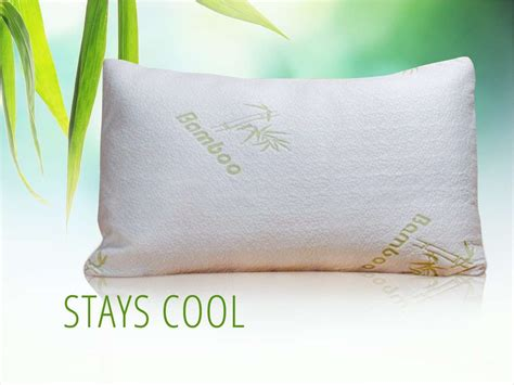 feel my bamboo pillow alphacool bamboo cooling pillow my cooling