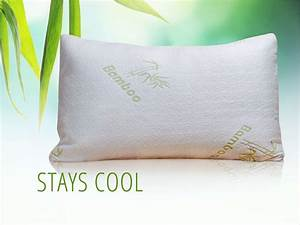alphacool bamboo cooling pillow my cooling store With bamboo pillow in stores