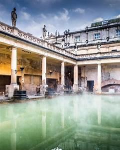 The Roman Baths  Bath  England  United Kingdom