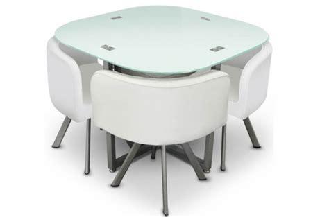chaises blanches pas cher table repas damier 4 chaises blanche tables à manger pas