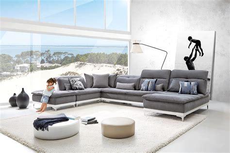 canapé cuir home salon horizon canapé tissu base en cuir sur couette et