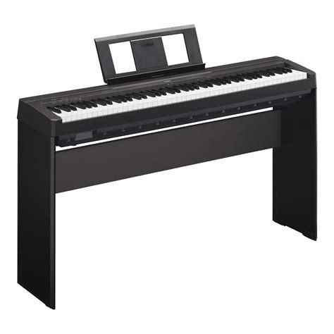 yamaha p 45b stage piano black set inkl homest 228 nder