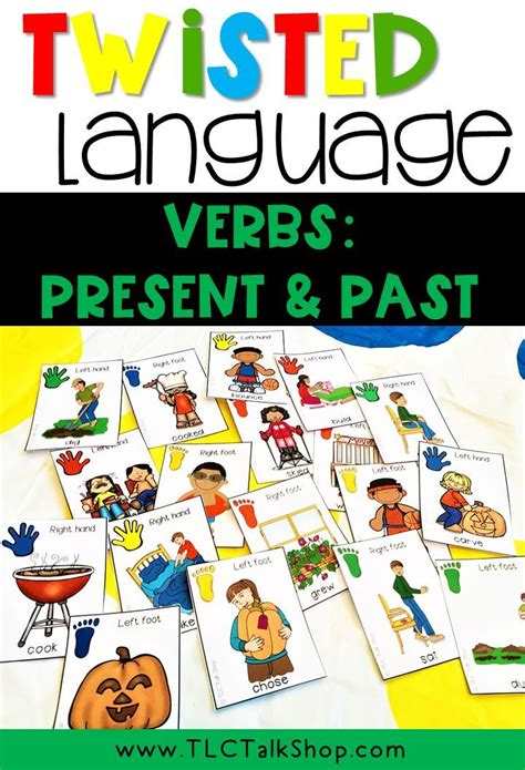 twisted language verbs present  tense  images