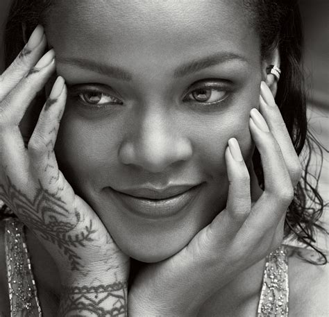 turned wood l rihanna speaks more from the vogue interview vogue