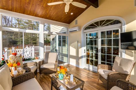 Sunroom Interior by Living Space Sunrooms And Patio Enclosures In Maryland