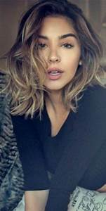 Dégradé Mi Long : coupe d grad e les m ches sur cheveux mi longs d grad s ~ Melissatoandfro.com Idées de Décoration