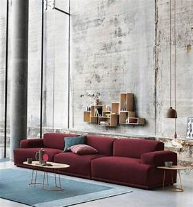 1001 conseils et idees quelle couleur va avec le rouge With nettoyage tapis avec canapé connect muuto