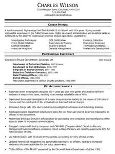 detective resume exles affiliations resume exle business templated business templated