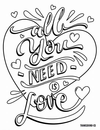 Coloring Valentine Valentines Adult Adults Printable Sheets