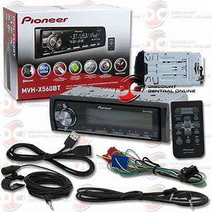 2014 Pioneer Mvh X560bt 1 Din Car Digital Media Receiver W