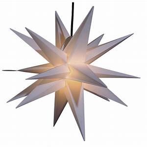 Stern Beleuchtet Weihnachten : deko weihnachtsstern f r au en wei 55 cm dekoration bei dekowoerner ~ Sanjose-hotels-ca.com Haus und Dekorationen
