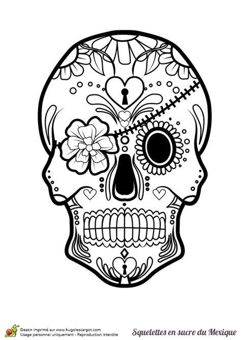 masque rituel à tête de fils des histoires coloriage crâne en sucre mexicain bandeau et fleurs