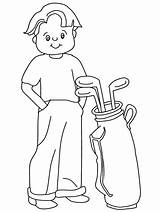 Golf Coloring Pages Sports Golfer Printable Course Birthday Coloringpages101 Printables Club Popular Ball Sheet Getcoloringpages Advertisement Coloringhome Site sketch template