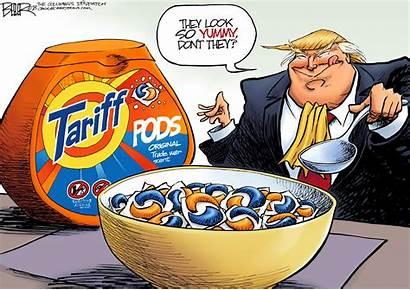 Tariff Cartoons Editorial Pods Cartoon Trump Tariffs