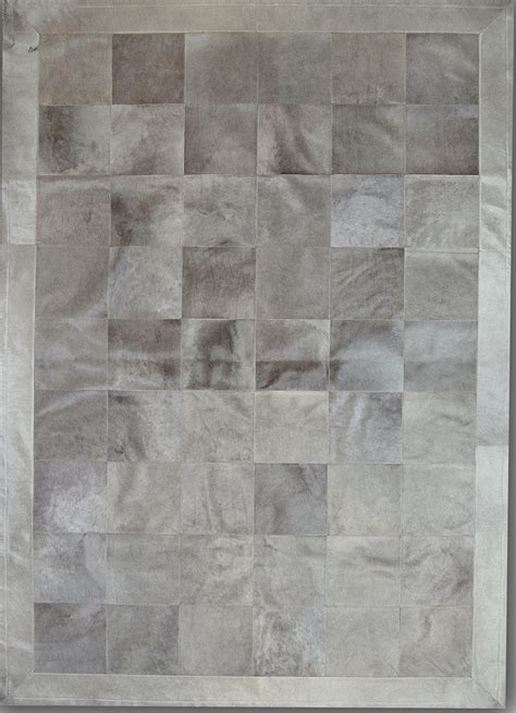 Designer Cowhide Rugs by Pieles Pipsa Gray Cow Hide Designer Rug 4 From The Cowhide