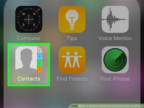 how to delete contacts from iphone 5 3 ways to delete contacts from an iphone wikihow 3286