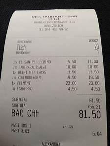 Restaurant Rechnung : 313 restaurant birmensdorferstrasse zurich dinner the real picky gourmet ~ Themetempest.com Abrechnung