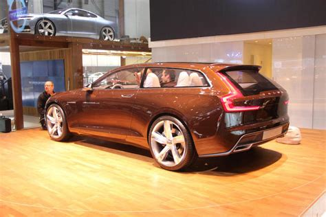 geneva  volvo brown wagon concept  truth  cars