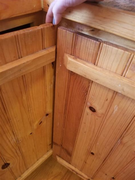 How To Build A Corner Cabinet With Doors - how to fix an awkward corner cabinet in 5 easy steps