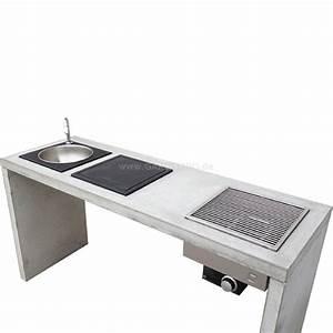 Outdoor Küche Beton : oneq beton outdoork che komplett aussenk che outdoor ~ Michelbontemps.com Haus und Dekorationen