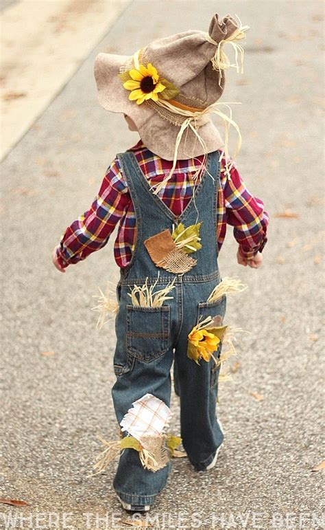 Easy & Adorable Diy Scarecrow Costume That's Perfect For Kids & Adults