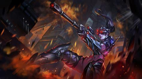 Anime Wallpaper Maker - anime weapon widowmaker bodysuit gun sniper