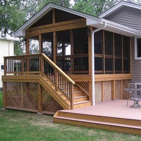 season porch  ken  build pinterest