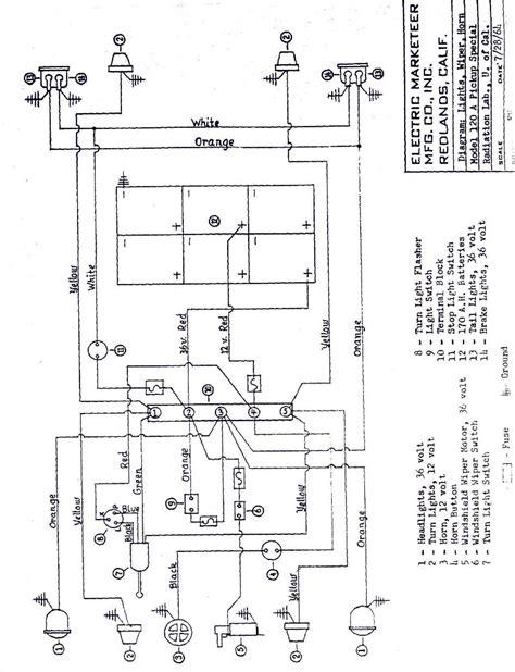 cartaholics golf cart forum gt melex 512e cable diagram