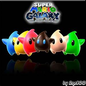 Super Mario Galaxy Stars by Rne800 on DeviantArt