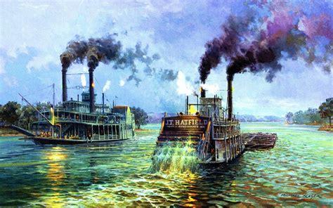 Barco De Vapor Mississippi by R 237 O De Vapor Barcos Mississippi Fondos De Pantalla R 237 O