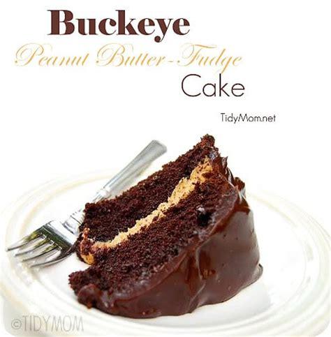 buckeye peanut butter fudge cake
