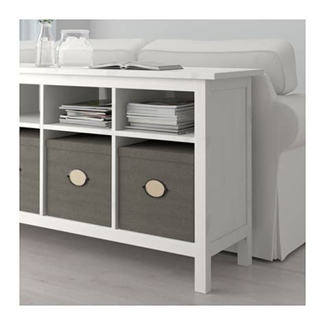 hemnes console table white stain 157x40 cm ikea