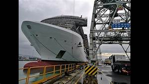 MSC Seaside: Float Out Ceremony and special Ship Visit ...