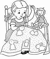 Embroidery Sewing Machine Jewswar Children Animals Quilt sketch template