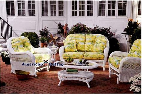 17 best images about white patio outdoor wicker furniture
