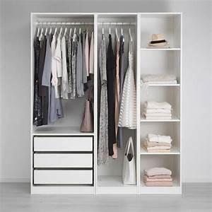 Ikea Offener Schrank : offener kleiderschrank 39 beispiele wie der kleiderschrank ohne t ren modern und funktional ~ Watch28wear.com Haus und Dekorationen