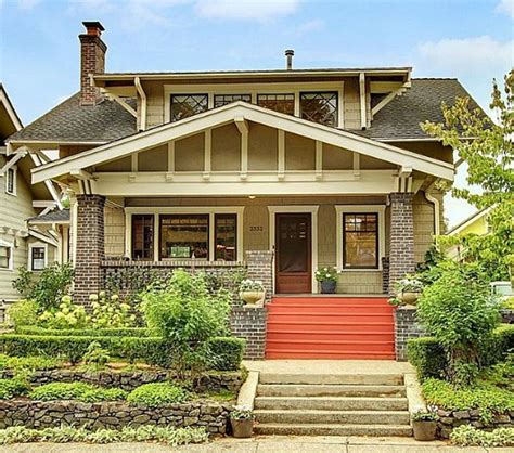 Craftsman Envy A 100yearold Bungalow In Seattle