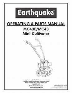 Earthquake Tiller Mc43 Fuel Line