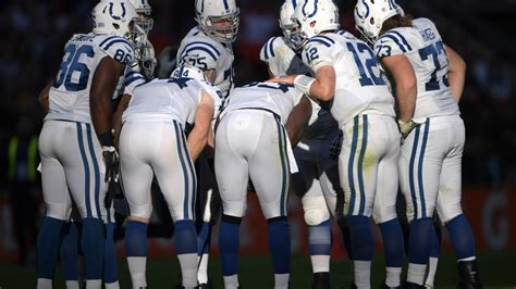 indianapolis colts  nfl regular season schedule announced
