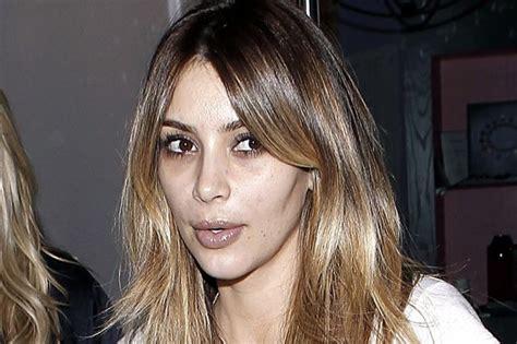 Kim Kardashian steps out make-up free, looks like she ...