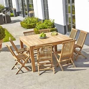 Salon Jardin Bois. salon bas de jardin en bois d 39 acacia ...