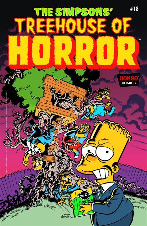 previewsworld simpsons treehouse  horror