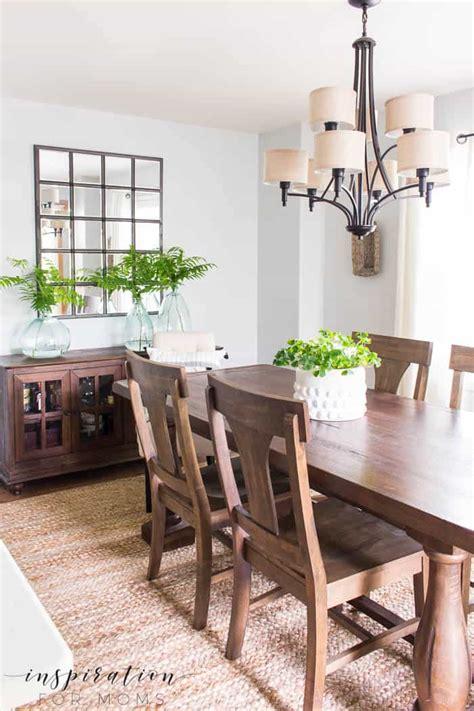 simple summer dining room decor inspiration  moms