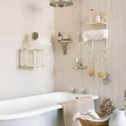small bathroom storage ideas uk small cream panelled bathroom with birdcage small bathroom design ideas housetohome co uk