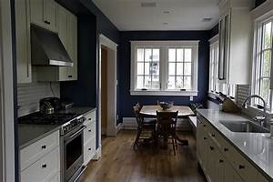 blue kitchen walls with white cabinets 2016 With kitchen colors with white cabinets with van gogh wall art