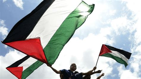 siege onu la palestine hisse drapeau