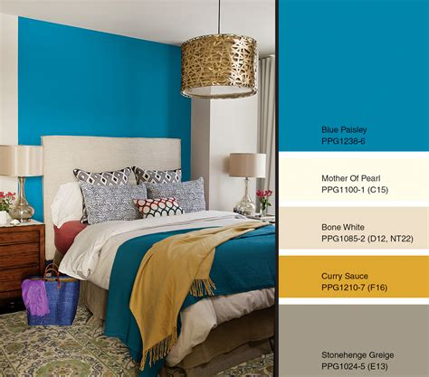 blue paisley named 2015 color of the year by ppg p ppg