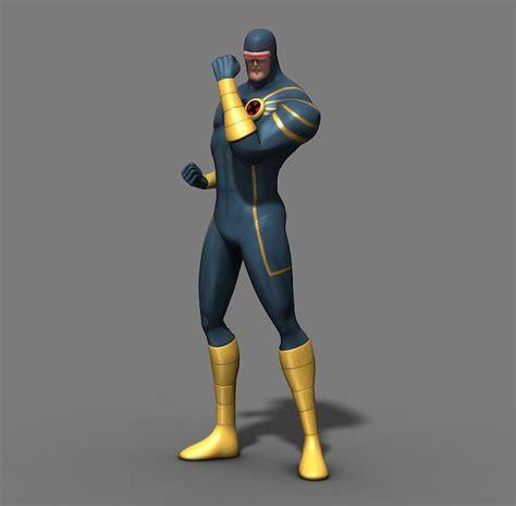 superhero  men  model sharecg