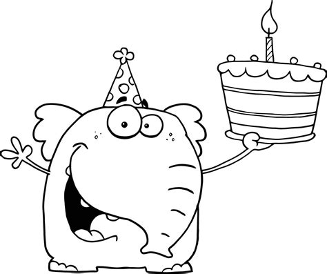 happy birthday coloring pages  coloring pages